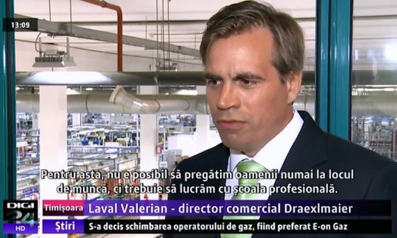 Valerian Laval - Successful model applied in Timisoara: German Professional School